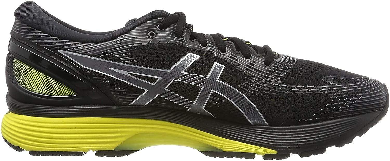 Chaussures Asics Gel Nimbus 21 Hommes Noir Jaune (1011A169