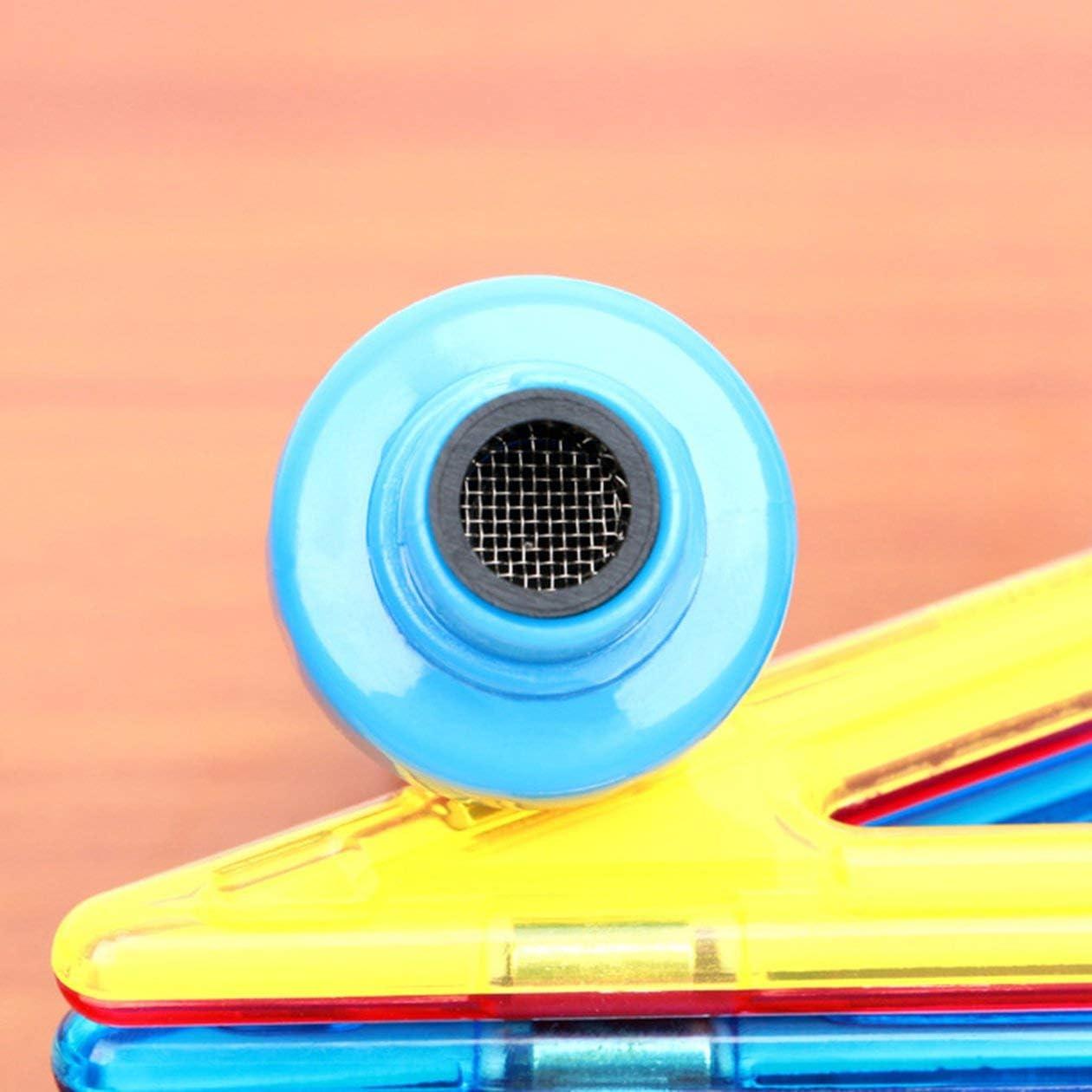 couleur: Bleu + Blanc /Électrique Tao Oreille Orgue Enfants Adulte G/én/éral Oreille Cuill/ère Cire Doreille Aspirateur et