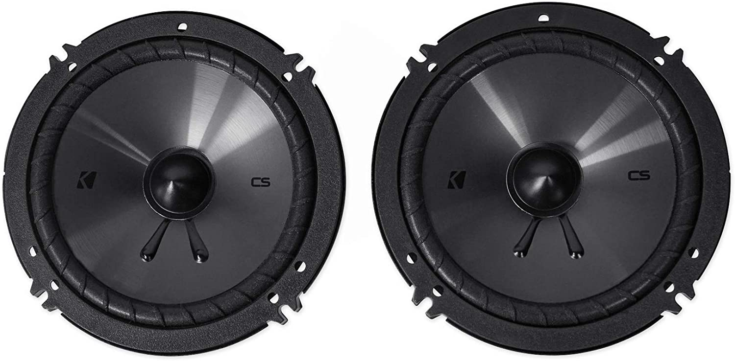 Kicker 46CSS654 Car Audio 6 1//2 Component Full Range Stereo Speakers Set CSS65