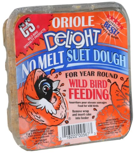Cake Orange Suet - C & S Products Oriole Delight, 12-Piece