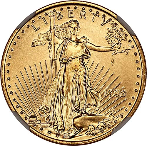 1996 P $10 Gold Eagles Gold Eagle Ten Dollar MS70 NGC