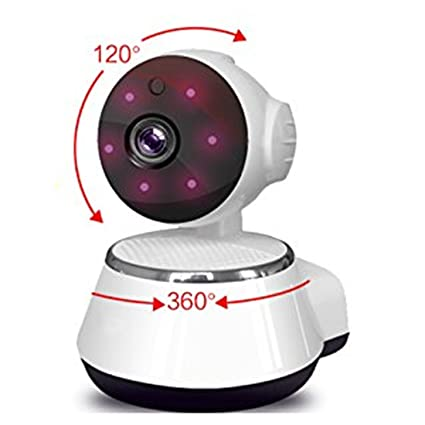64Gb Can Save 30 Day PTZ V380 Camera Motion Detection Alarm Baby Monitor Camera HD720P IP Wifi Camera P2P Cctv IR Cut Night Vision Home Cctv Camera