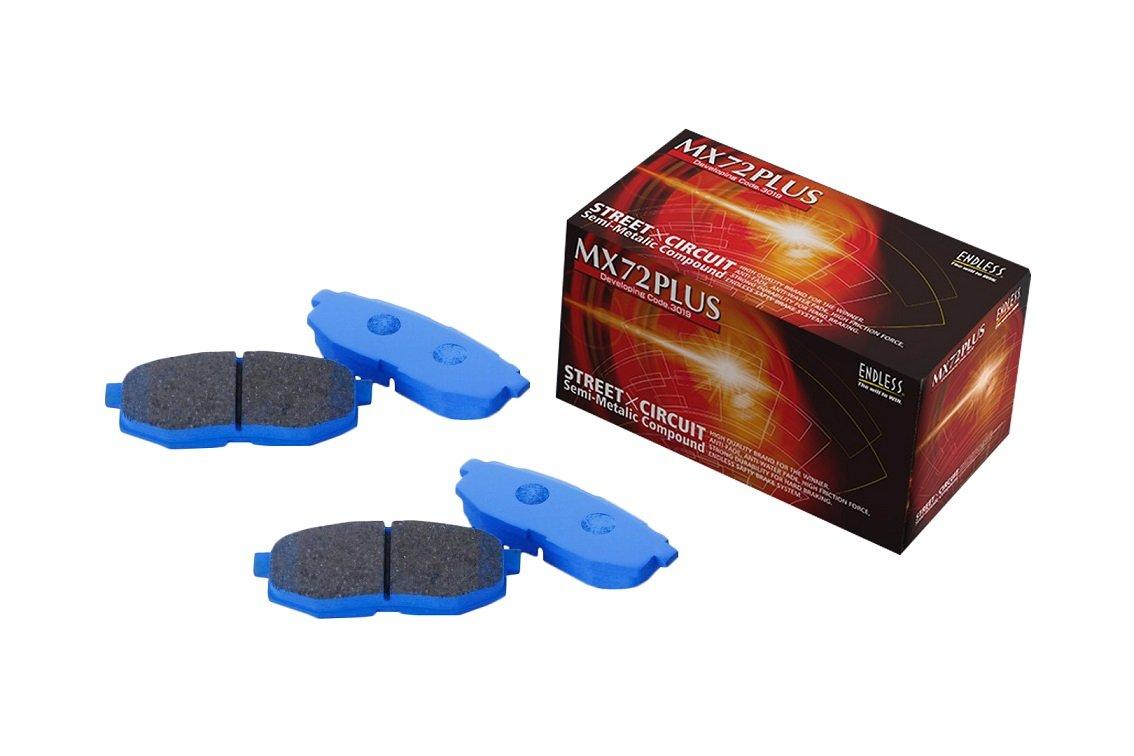 エンドレス (ENDLESS) ブレーキパッド【 MX72 PLUS 】(1台分セット) ニッサン シルビアターボ S14/15 MXPL230064 B01M15N0DT シルビアターボ  S14/15