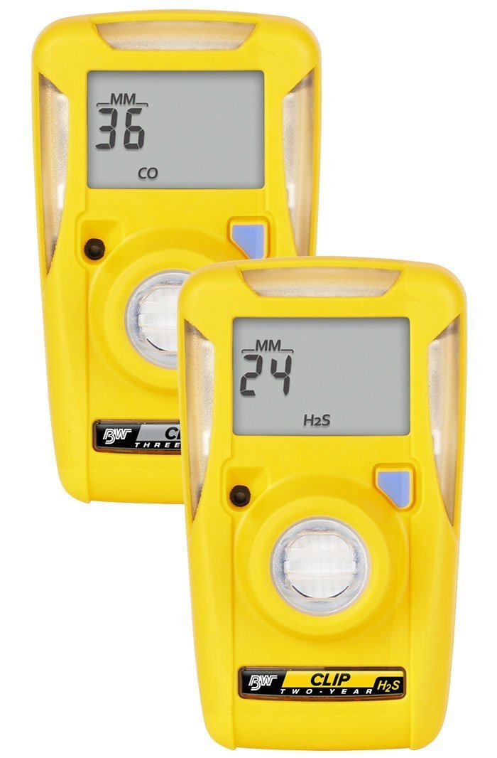 BW Technologies BWC2-M BW Clip Single Gas CO Monitor, 35/200