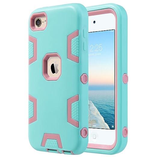 11 opinioni per Cover per iPod Touch 6 / iPoad Touch 5, ULAK iPod Touch 6 Custodia ibrida a