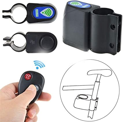 Bicycle Bike Anti-Theft Security Alarm Lock Sound Alert with Remote Control NICE