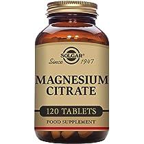 Solgar Citrato Magnesio - 120 Tabletas ...