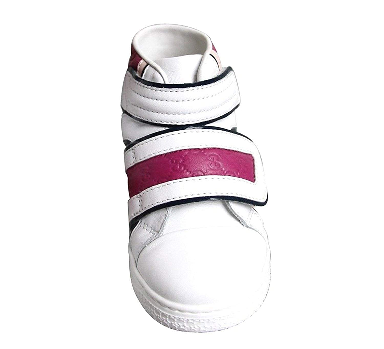 caa9c1be3 Amazon.com   Gucci Kid's Unisex Leather High top Coda Pop Sneakers 301353  301354   Sneakers