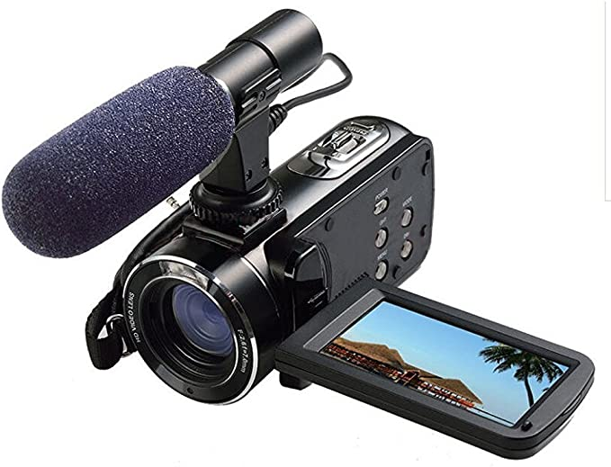with SDC-26 Case Creative Vado Camcorder External Microphone XM-AD2 Dual Channel XLR-Mini Audio Adapter for DSLR/'s Camcorders and Pro Video Cameras