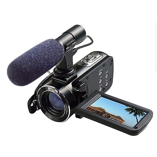 3 opinioni per Videocamera Full HD Ordro digitale con microfono esterno, modello HDV-Z20