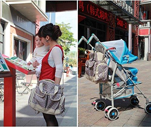 Global- 31 * 15 * 34cm del paño de Oxford paquete de múltiples funciones de la momia bolsa de gran capacidad Madre Las mujeres embarazadas Saliendo mochila ( Color : # 2 ) # 2