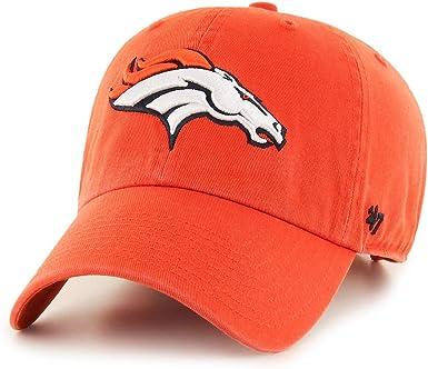 Royal NFL Denver Broncos 47 Brand Clean Up Adjustable Hat One Size