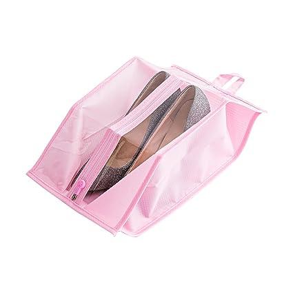 Amazon.com: Ya Jin 4PCS Shoe Bags Travel Gym Organizer ...