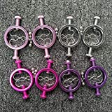 1 Pair Female Nipple Fixture Clamps Stainless Steel Torture Papilla Stretcher Clips Female Bondage Clamps Adult Sex Toy