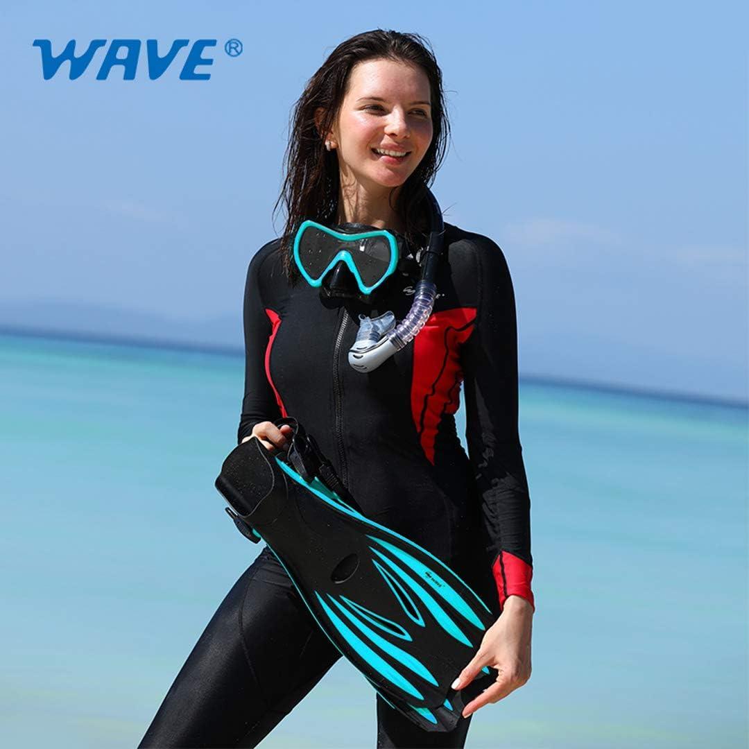 Greatever Snorkel Fins Adjustable Buckles Open Heel Swim Flippers Travel Size Sh