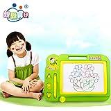 Meiyiu - Bloc de Dibujo para niños con Dibujo magnético para niños y niñas, Color al Azar