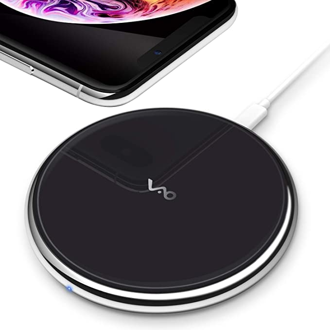 sports shoes 239f1 14727 Vebach Dubhe1 Wireless Charger, Qi Certified Fast Wireless Charging Pad  Compatible with iPhone Xs/XS Max/XR, 7.5W for iPhone X/8/8Plus, 10W for ...