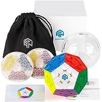 D-FantiX Gan Megaminx Cube Stickerless 3x3 Megaminx Speed Cube Gans Megaminx Magnetic M GES V3 System 3x3x3 Pentagonal…