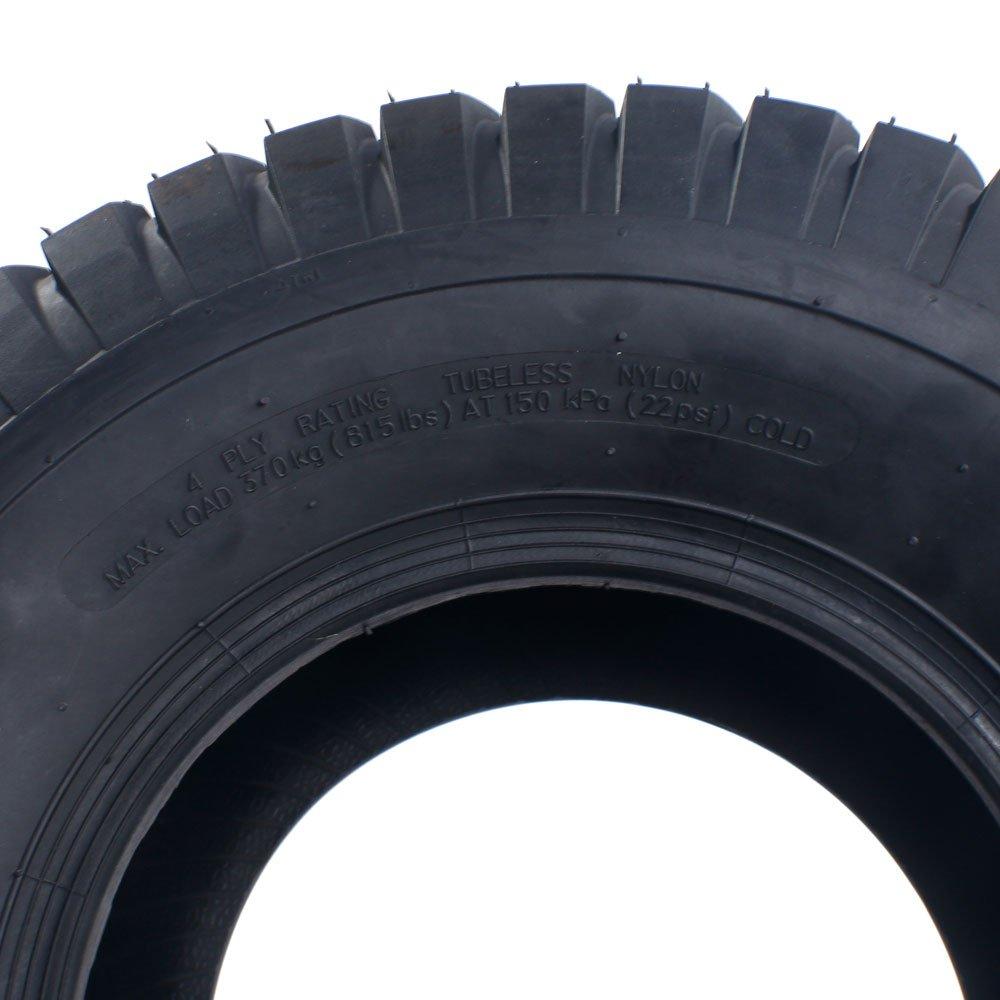 2x 18x8.50-8 Turf Saver Lawn & Garden Tire 4PR Lawn Mower Golf Cart Tires by Motorhot (Image #8)