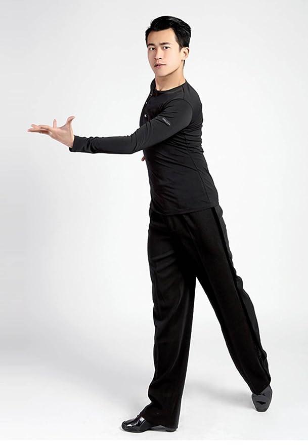 SCGGINTTANZ G5003 Profesional Maillots de Danza Latino Latin Moderno Baile para Hombre