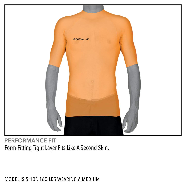 da Uomo ONeill Wetsuits Muta a Maniche Lunghe con Protezione dai Raggi UVA