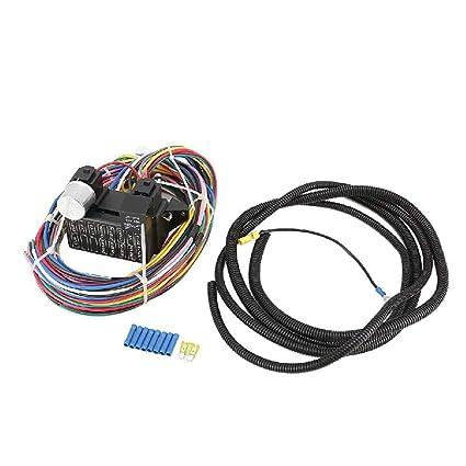 Fantastic Amazon Com Ironwalls 12 Circuit Wiring Wire Harness Kit Street Rod Wiring Cloud Funidienstapotheekhoekschewaardnl