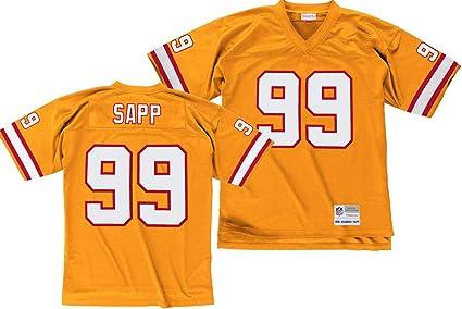 Mitchell & Ness Warren Sapp Tampa Bay Buccaneers Orange Throwback ...