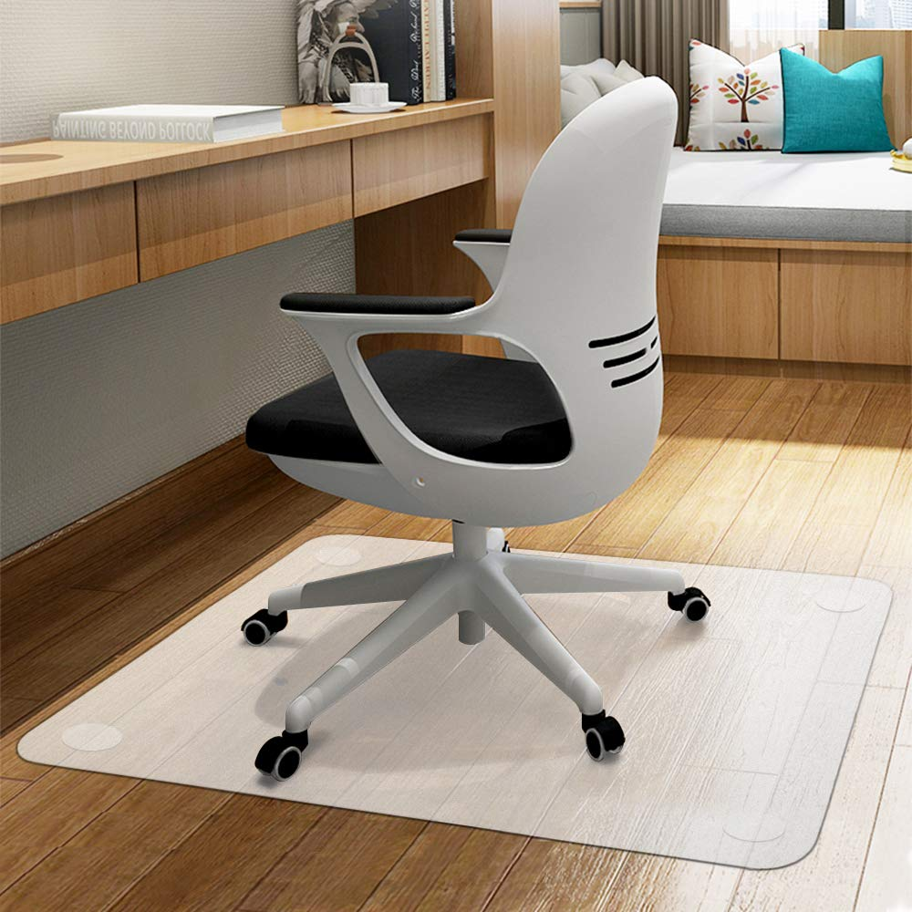 Office Computer Chair Mat for Hardwood Floor Protector - Anti Skid