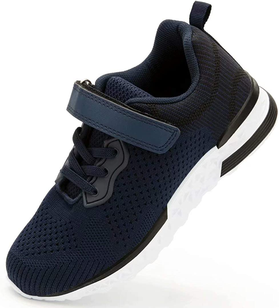 for 3-8 Years Old Kids firelli Kids Sneaker Boys Girls Lightweight Running Sports Shoes Breathable Tennis Casual Shoes for Toddler//Little Kid