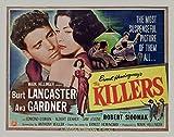 The Killers, Burt Lancaster, Ava Gardner, 1946 - Premium Movie Poster Reprint 36