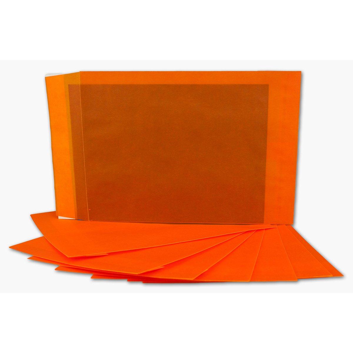 Transparente Transparente Transparente Umschläge DIN C5   200 Stück   Pastell-Orange-transparent mit seitlicher Verschlusslasche   Haftklebung   162 x 229 mm   Moderne Umschläge für Einladungen, Promotions, Giveaways B07JMXLJHC | Starker Wert  247432