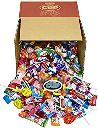By The Cup Candy Party Mix 4 Lbs (Featured Candy Air Heads, Starbursts, Sweet Tarts & More)