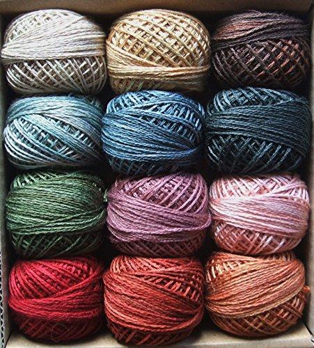 (Valdani 3 Strand Cotton Floss Embroidery Punch Needle Thread Fanaticas Retro Set)