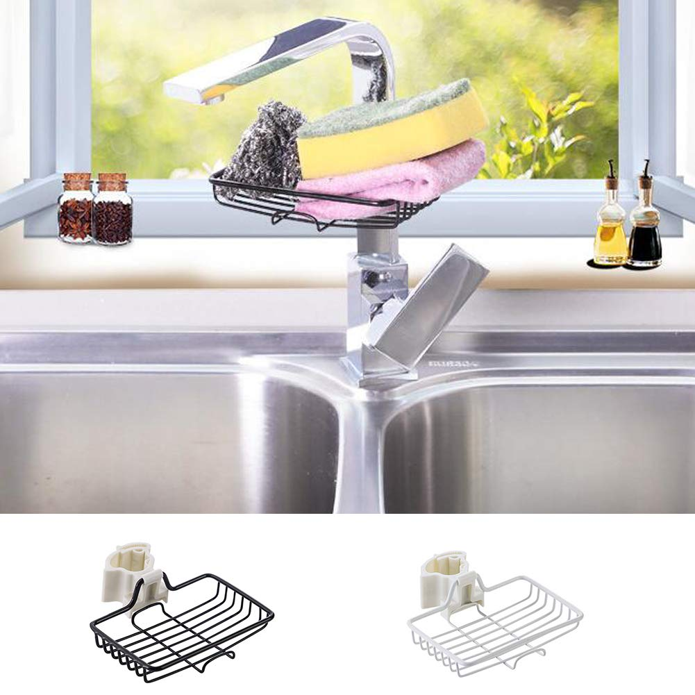 Soap Lovelychica Kitchen Sink Sponge Holder Dish Cloth Hanger Rust Proof Stainless Steel Sink With Suction Cup In Sink Brush Caddy For Sponges Scrubbers
