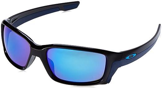 Óculos de Sol Oakley Straightlink OAK9331 Preto Lentes Azul Iridium Tam 58 697dfd7a4b