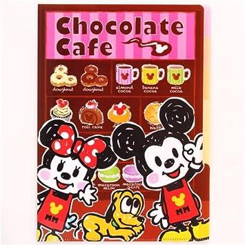 Carpeta A4 5 apartados Disney Mickey Mouse donut café ...