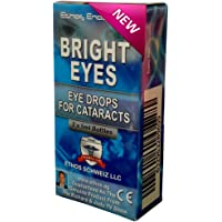 Ethos Bright Eyes™ Carnosine NAC Eye Drops - NAC Eye Drops (Safe for Cataracts Sufferers) - As Seen on UK National TV with Amazing Results! NAC n acetyl carnosine eye drops.