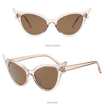 Mitlfuny Retro Vintage Clout Cat Eye Unisex Sunglasses Grunge Glasses Eyewear Rapper Oval Shades Glasses Integrated Uv Glasses Amusement Travel Eyeglasses