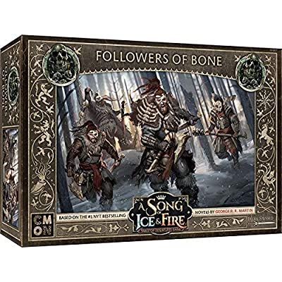 A Song of Ice and Fire: Free Folk Followers of Bone: Toys & Games