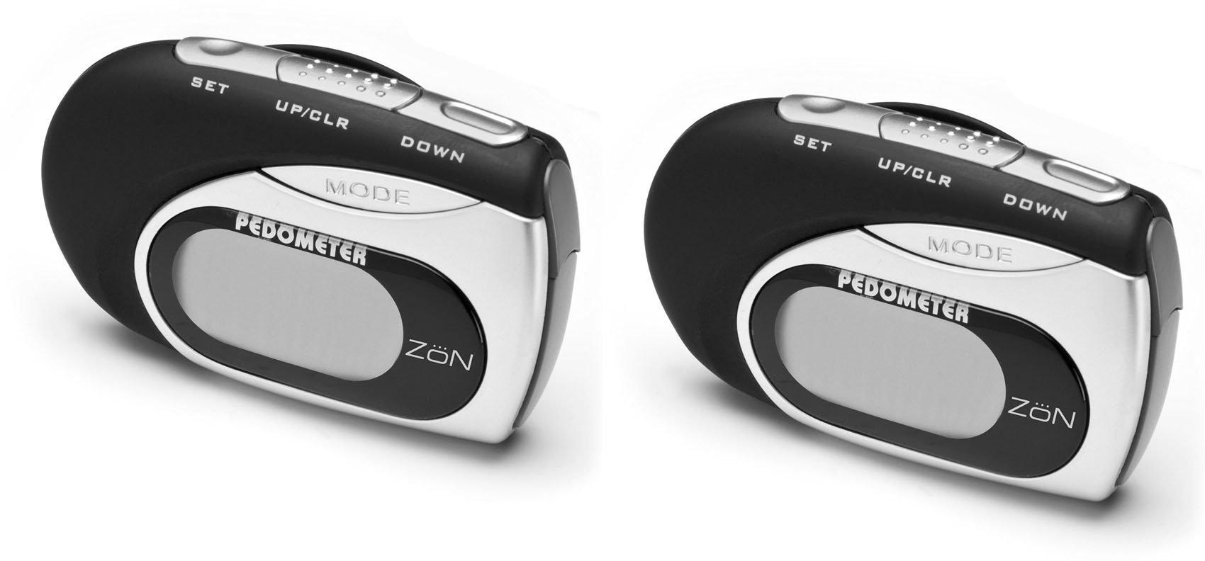 ZON Digital Pedometer Multi-Function- 2 Pack