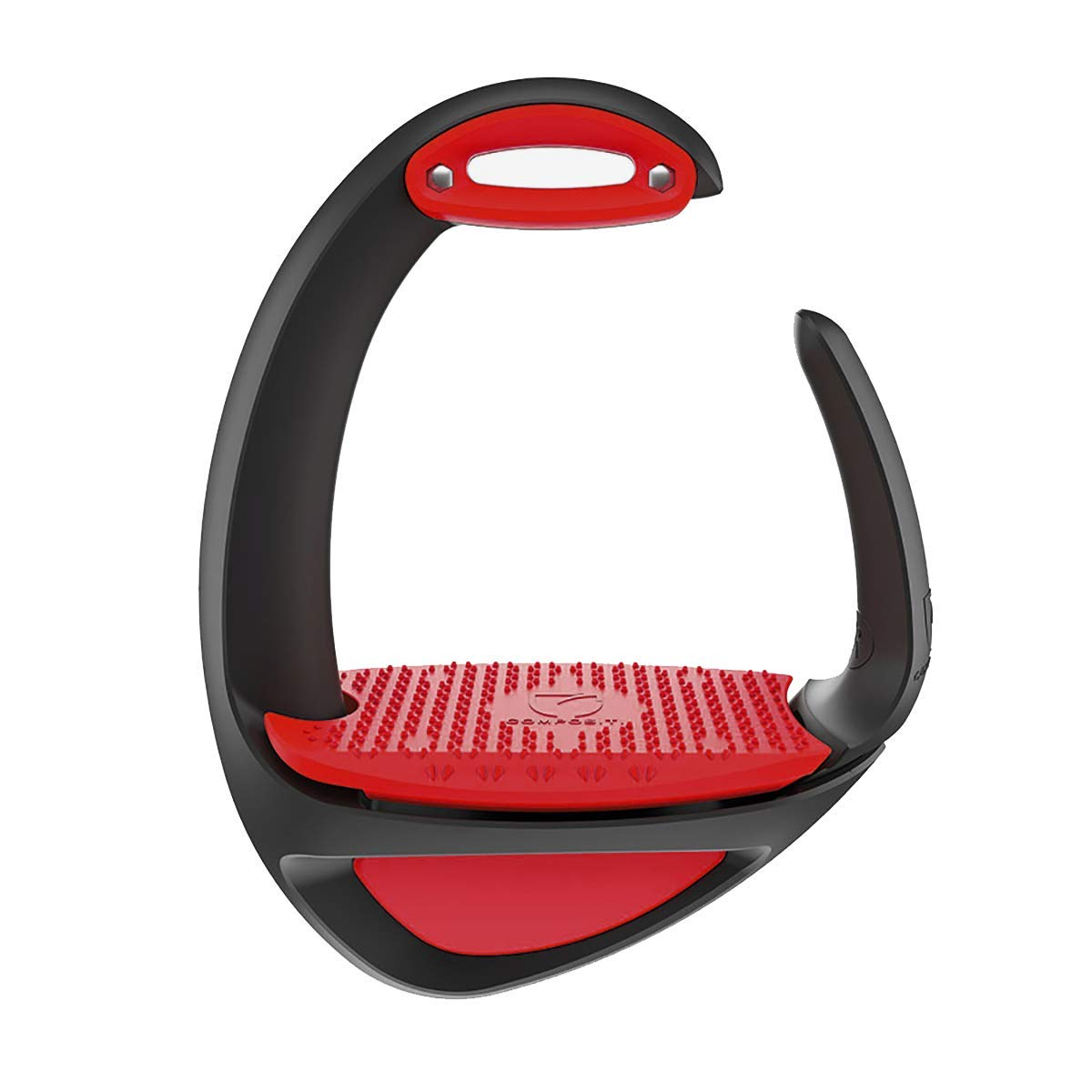 Compositi Ellipse Stirrups Comfort + (Black Red)