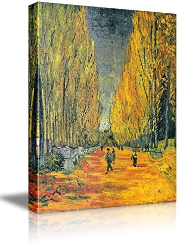 Les Alyscamps by Vincent Van Gogh Oil Painting Reproduction