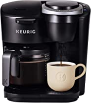 Keurig K-Duo Essentials Single Serve and Carafe Coffee Maker, Black