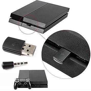 a-store última versión Bluetooth Dongle USB Adaptador para PS4 cualquier auriculares Bluetooth: Amazon.es: Electrónica