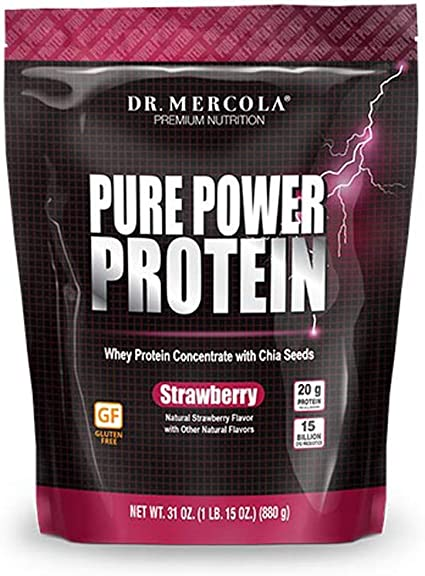Amazon.com: Dr. Mercola Pure Power Proteínas – Concentrado ...