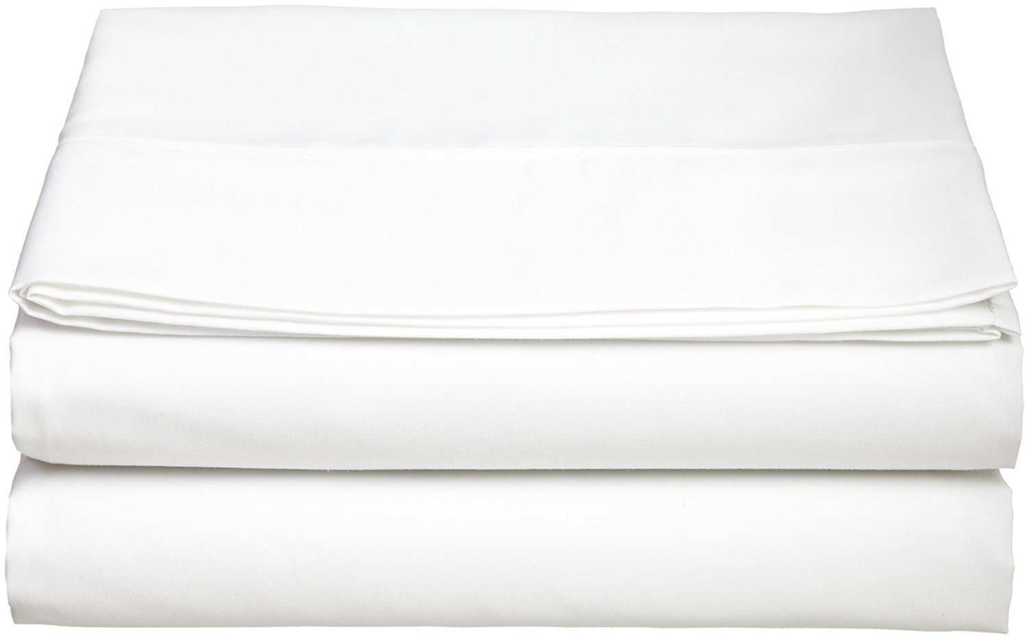 Twin/Full/Queen/King/Cal King Size Flat Sheet Double Brushed Microfiber Top Sheet Only - Soft, Hypoallergenic, Wrinkle, Fade, and Stain Resistant Alberd