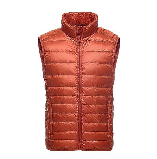online retailer c8b88 66756 YOUJIA- Giacca- Piumino- Senza maniche- Uomo Leggero Caldo Giacche Corto  Capispalla Cappotto Invernale