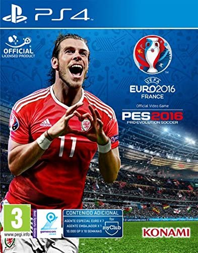 Pro Evolution Soccer (PES) UEFA Euro France 2016: Amazon.es: Videojuegos