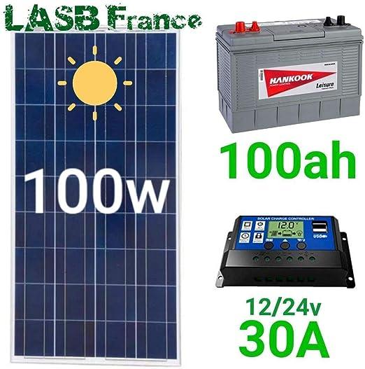 Kit Solar - Pack automático de energía solar con batería: Amazon ...