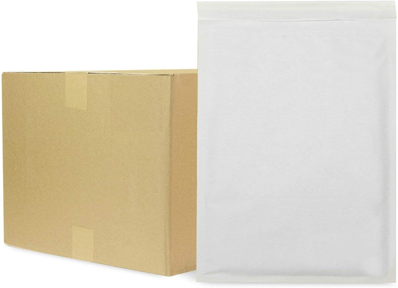 pacco da 10 Mail Lite Buste Postali Bianche A//000 110 x 160 mm